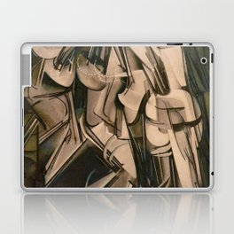 Marcel Duchamp Nude Descending A Staircase No. 2 Laptop & iPad Skin