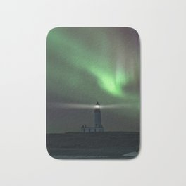When the northern light appears Bath Mat