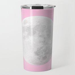 WHITE MOON + PINK SKY Travel Mug