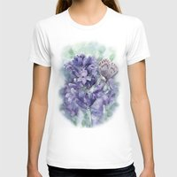lavender T-shirts featuring Lavender by A cup of grey tea