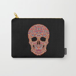 Geometric Skull Carry-All Pouch