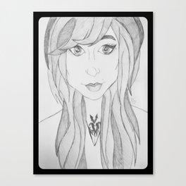 Pretty Girl. Canvas Print