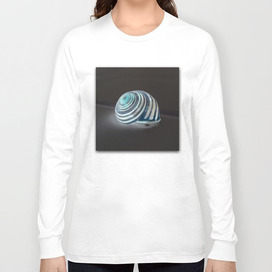 Glowing Snail Long Sleeve T-shirt