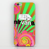 nirvana iPhone & iPod Skins featuring nirVANa by nick inglis