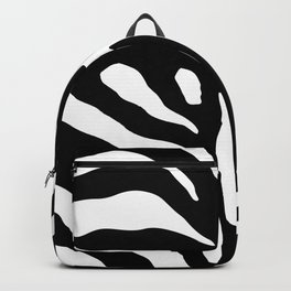 Black and white Zebra Stripes Design Backpack