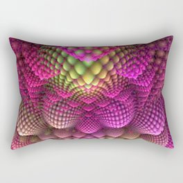 Colored Romenesco Rectangular Pillow