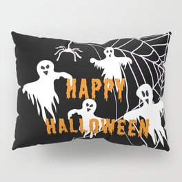 Monsters Happy Halloween Pillow Sham