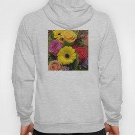 Elegant Spring Floral Bouquet Hoody