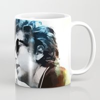 dylan Mugs featuring Bob Dylan by Maioriz Home