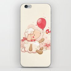 Sheep & Balloon iPhone & iPod Skin