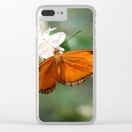 Julia Butterly Clear iPhone Case