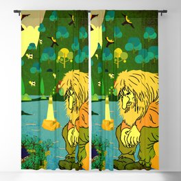 Norwegian giant  Troll 10 Blackout Curtain