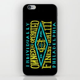 Owned & Operated  iPhone Skin