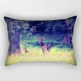 Morning in the Meadow Rectangular Pillow