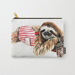 Sassy Sloth Carry-All Pouch