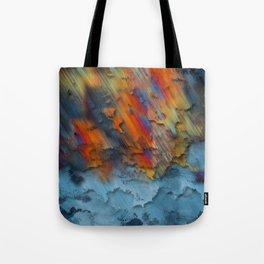 Diagonal Rainbow Redux Tote Bag