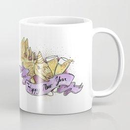 New Years Dino! Coffee Mug