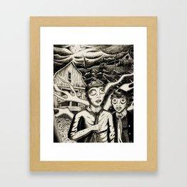 Shadow Over Innsmouth Framed Art Print