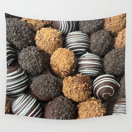 Truffle Chocoholic Fudge Mania Wall Tapestry
