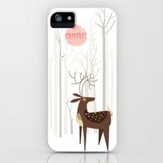 Reindeer of the Silver Wood Slim Case iPhone (5, 5s)