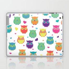 Rainbow Owl Cuties Laptop & iPad Skin
