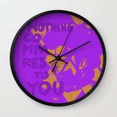 Nothing Compares Wall Clock
