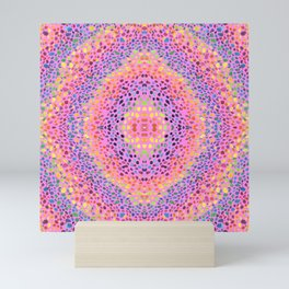 rainbow stones Mini Art Print