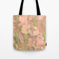 peony Tote Bags featuring Peony  by Armin