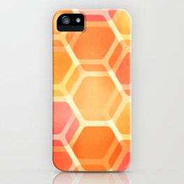 Pastel Hexa iPhone Case