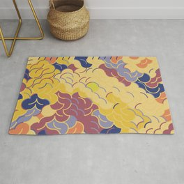 Abstract Geometric Artwork 84 Rug