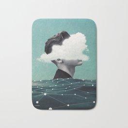 Behind the cloud ... Bath Mat