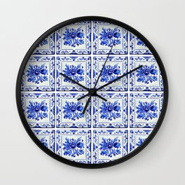 Dutchie Blues 4 Wall Clock