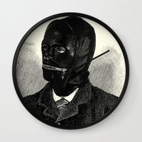 bdsm Wall Clocks featuring BDSM I by DIVIDUS