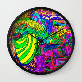 Fantacy Aquarium Wall Clock