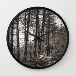 hikers II. Wall Clock