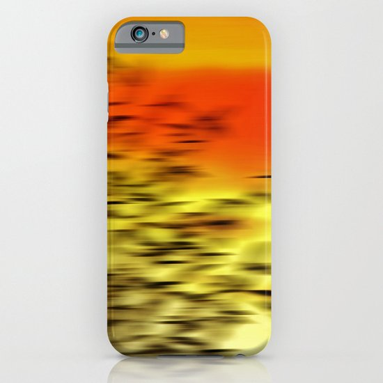 Warm whisper iPhone & iPod Case