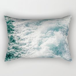 Foamy Waves Rectangular Pillow