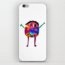 DooDoo Boy | Kids Painting by Elisavet iPhone Skin