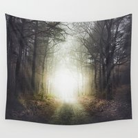final fantasy Wall Tapestries featuring Final destination by HappyMelvin