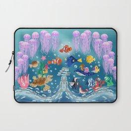 Sea Wallpainting Laptop Sleeve