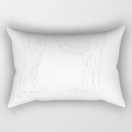 Harrier-tshirt,-just-freaking-love-my-Harrier. Rectangular Pillow