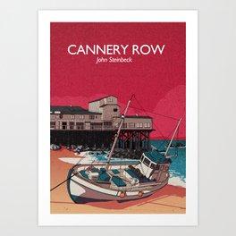 Cannery Row - John Steinbeck Art Print