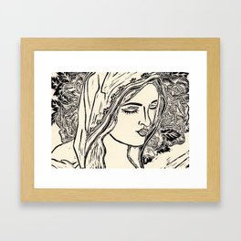 Flower Child Framed Art Print
