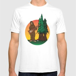 Sunset Sasquatch T-shirt