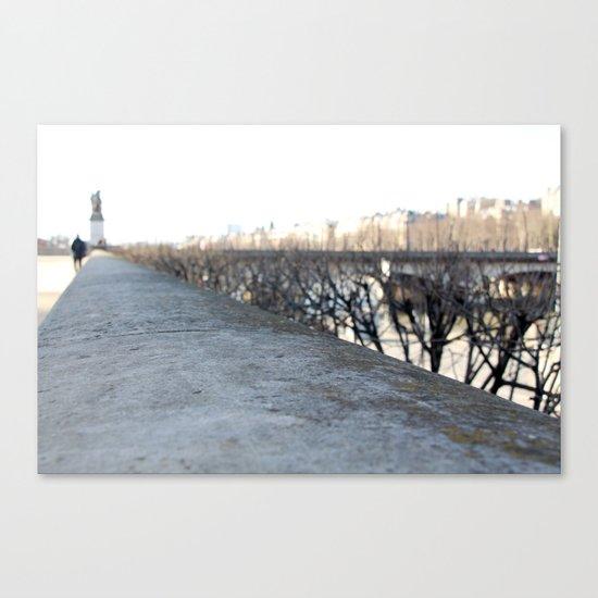 By the Seine Canvas Print