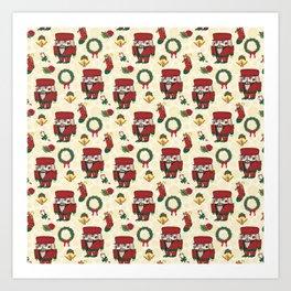 Nutcracker Holiday Christmas SB1 Art Print