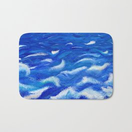 Ever in Motion; Ever the Same Bath Mat