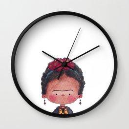 Frida - Watercolor Wall Clock