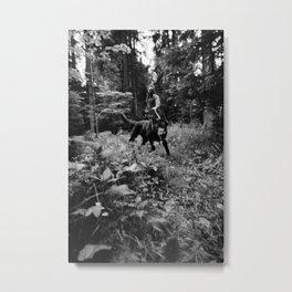 Test-Foto 24 // Joni und Wolfi Metal Print