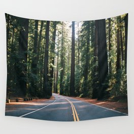 Avenue of the Giants Wall Tapestry
